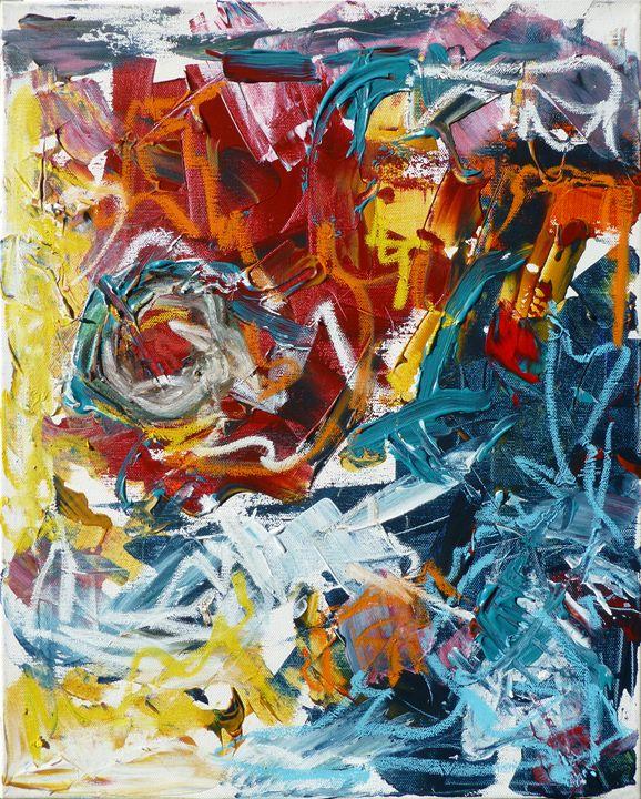 Active Painting 1 - Allison Lampron