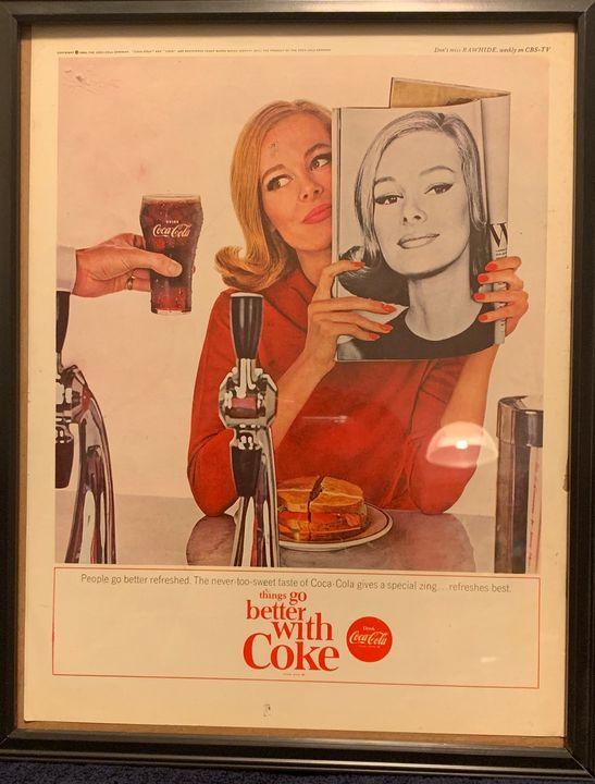 Always Coca Cola circa 1960s - Maria ODea