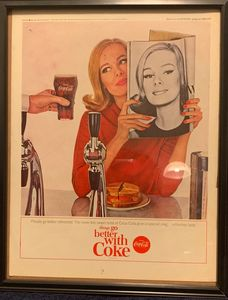Always Coca Cola circa 1960s
