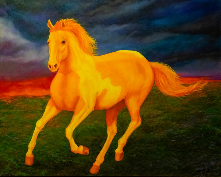 Spirit Horse - John Miller
