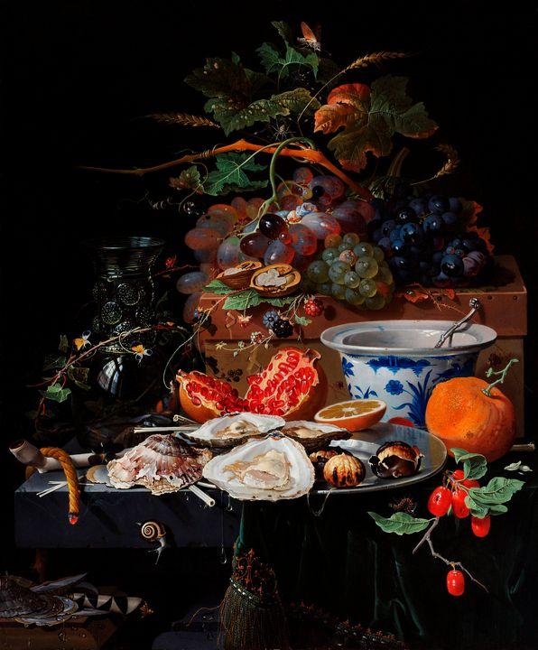 Fruits et huîtres - arthurazer