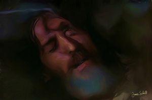 Jesus Sleeping