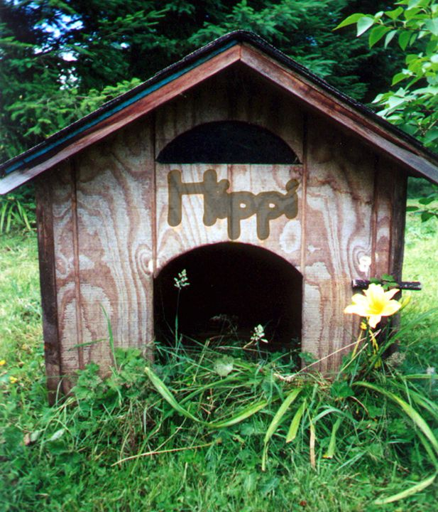 Dog House - LooseGoose Art