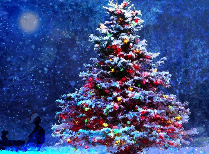 O Christmas Tree - LooseGoose Art