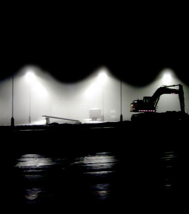 Midnight Curtain - LooseGoose Art