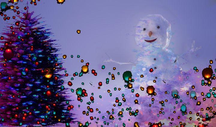 Winter Spirit Man - LooseGoose Art