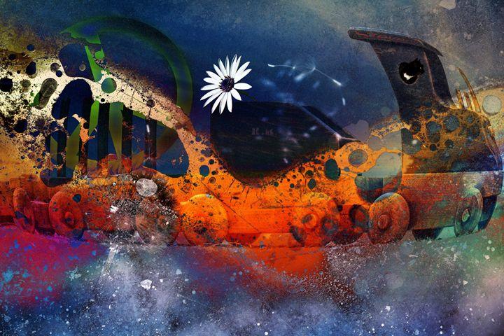 Peace Train - LooseGoose Art