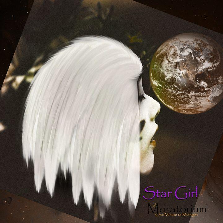 Star Girl (Moratorium) - LooseGoose Art