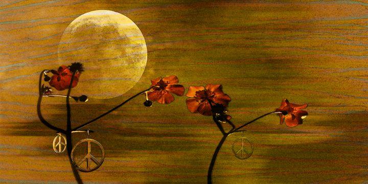 Under The Moon - LooseGoose Art