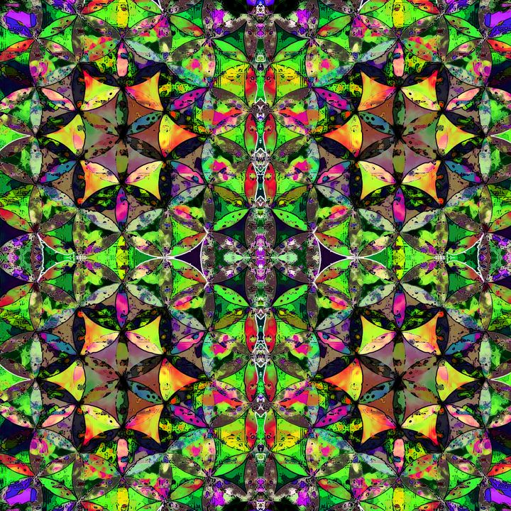 4 Flowers - LooseGoose Art