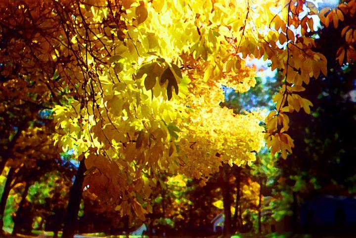 Autumn Hello Yellow - LooseGoose Art