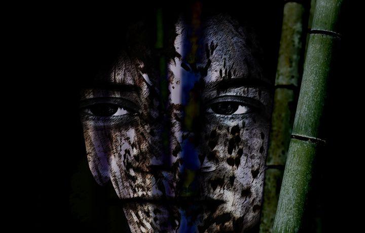 Hiding Bamboo - LooseGoose Art