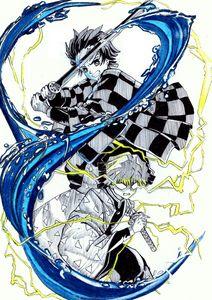 Tanjiro and Zenitsu