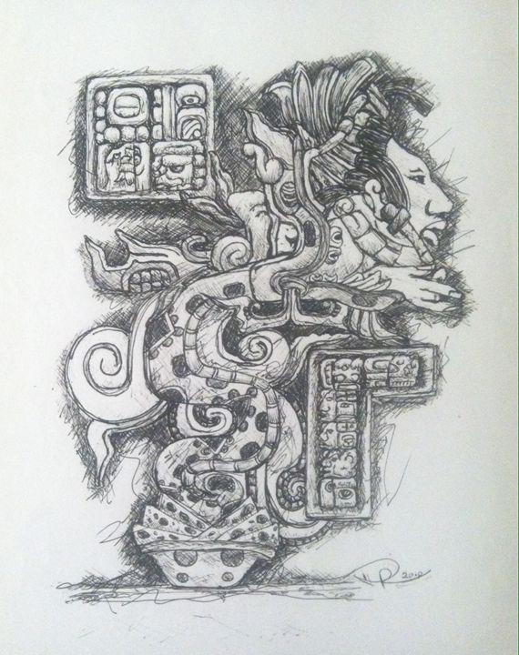 QUETZALCOATL  (feathered snake) - DREY (Danny Reyes)