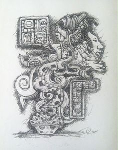 QUETZALCOATL  (feathered snake)