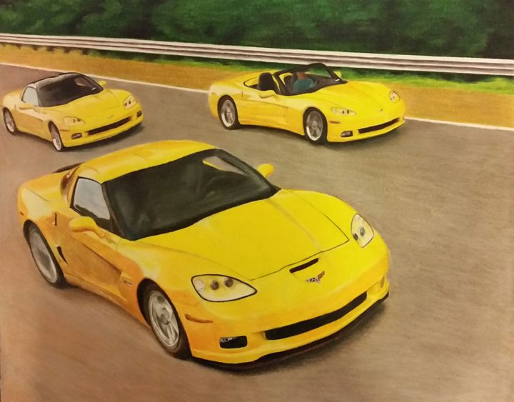 Yellow Corvettes - Unfinished Challenge