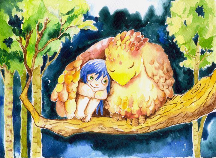 The Bird and the Girl - Eli