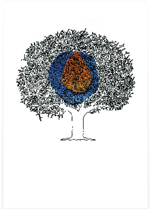 Tree Forest Screen Print Poster - POP MACHINE