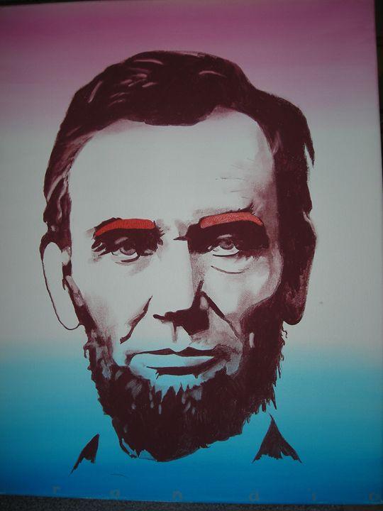 Mr. Lincoln - Lois Brand Artist