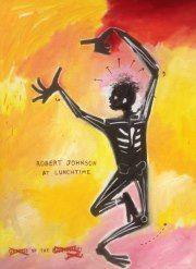Robert Johnson at Lunchtime - Lois Brand Artist