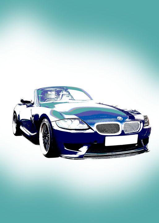 BMW Z4 E85 Portrait - Thanatus