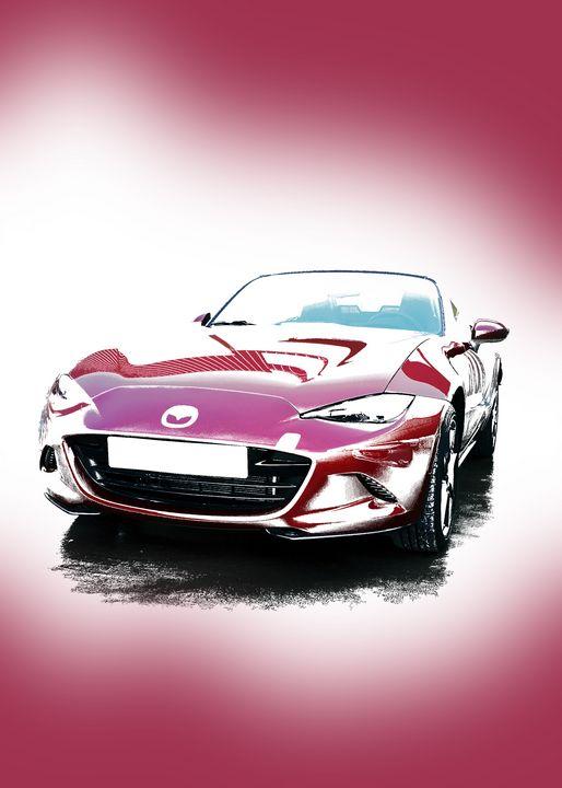 Mazda Miata MX5 ND Portrait - Thanatus