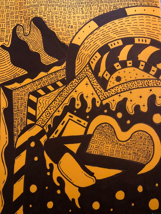 Midnight - Hand made art