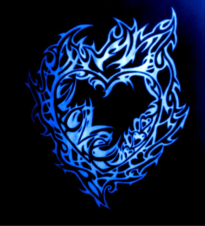 Tribal Love (blue Flame)
