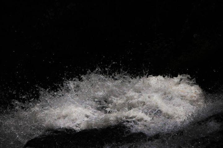 Frozen Water In Midair - R. Max Photos
