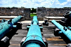 Cannons On The Wall