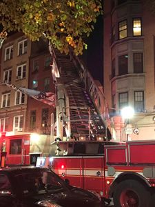 Boston Fire - Thanksgiving