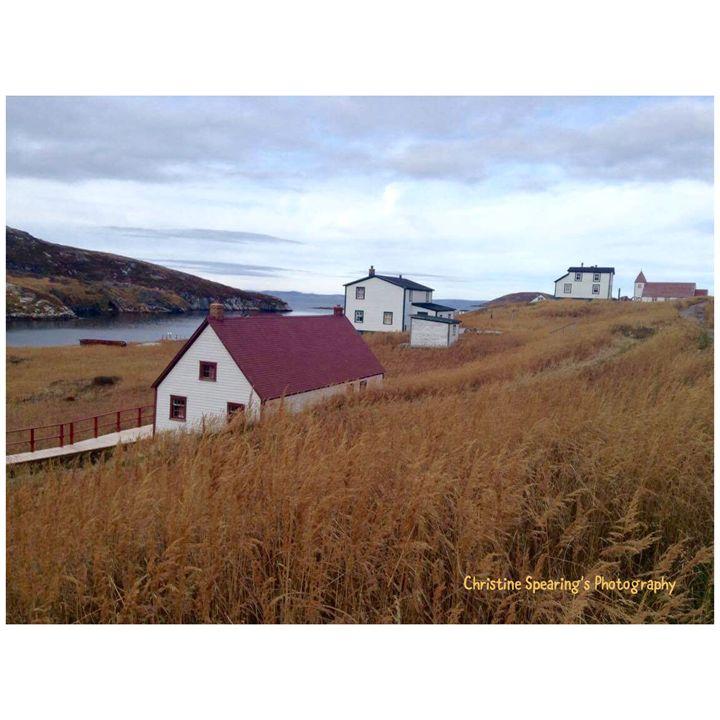 Battle Harbour, Labrador - Christine's Artwork