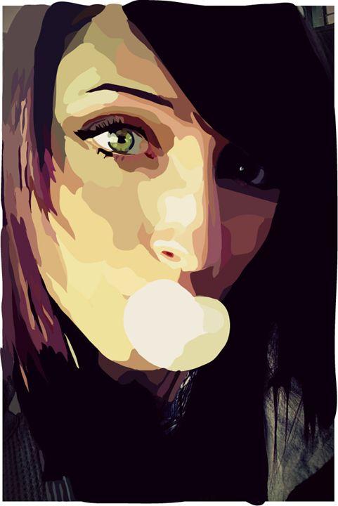 Self Portrait- Vector 2 - Kisa Usagi