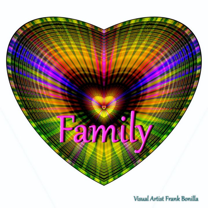 Family - Visual Artist Frank Bonilla