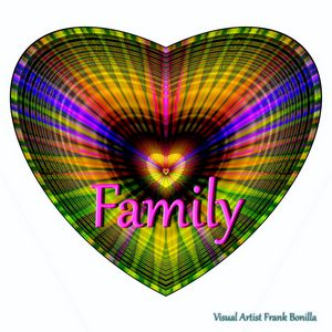 Family - Visual Artist Frank Bonilla