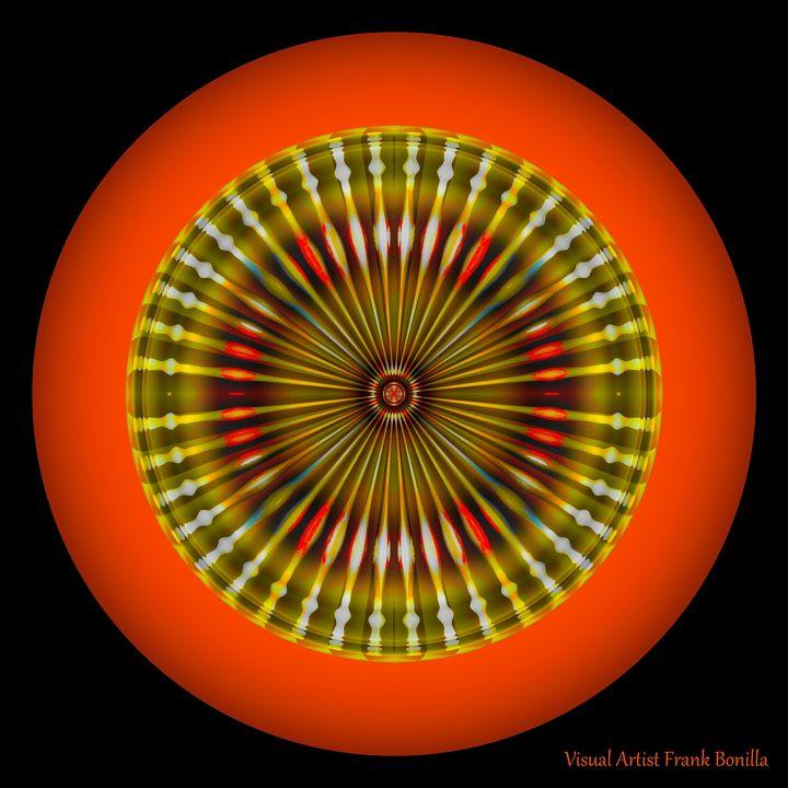 Native American Sun - Visual Artist Frank Bonilla