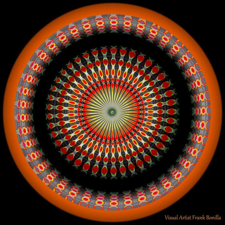 Native American Sun II - Visual Artist Frank Bonilla