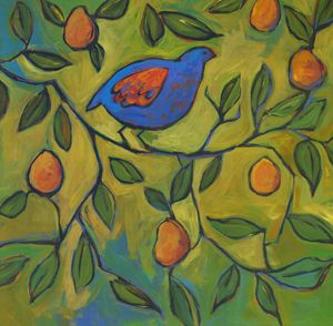Partridge in a Pear Tree - Patty Baker