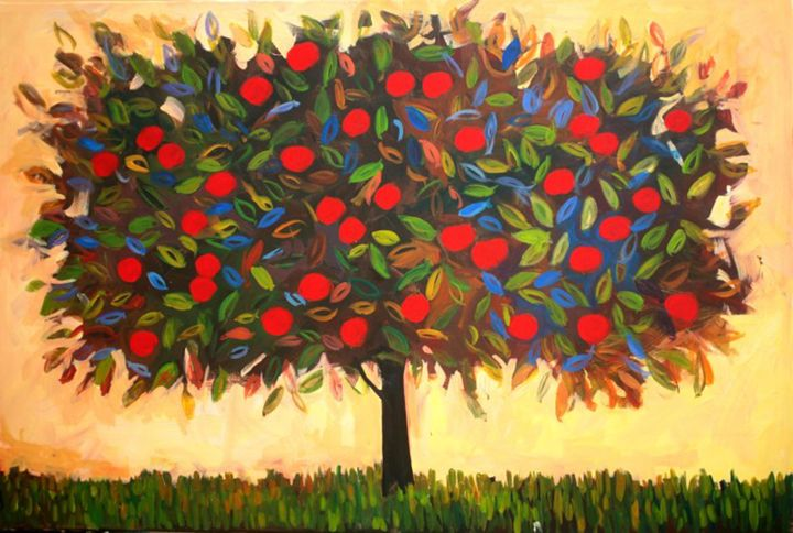 Harvest Apple Tree - Patty Baker