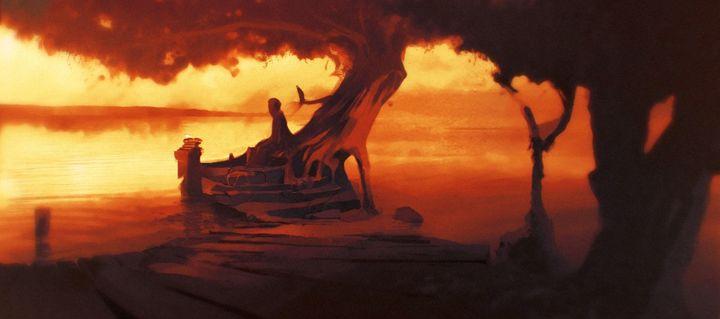 autumn sunset - ART RKV