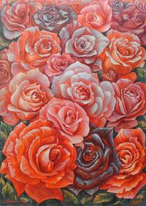 Roses happiness