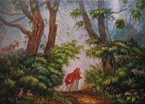 Лесной дорожкой