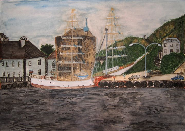 pier in Bergen - Olga Kudryavskaya