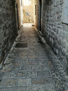 a side street in the old town