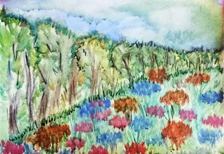 edge of the forest - Olga Kudryavskaya