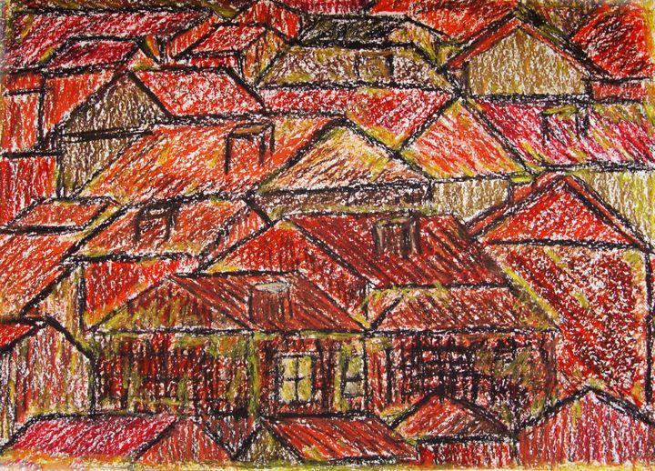 roofs - Olga Kudryavskaya