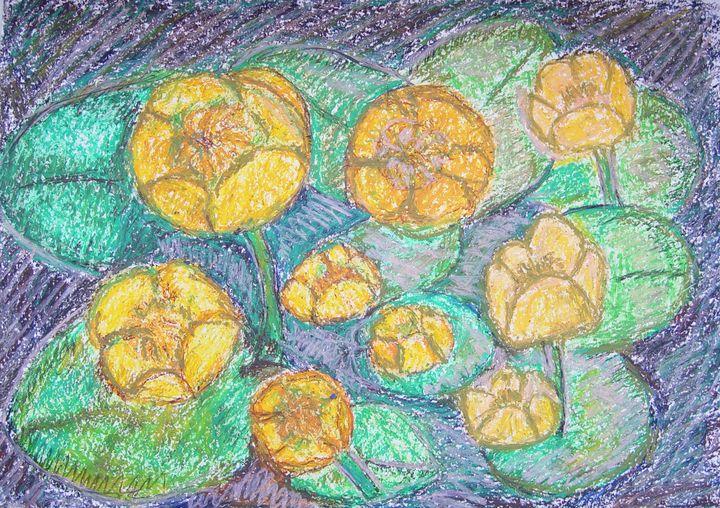 water lilies - Olga Kudryavskaya