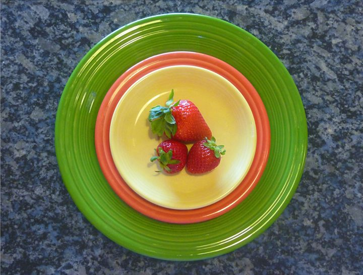 Rings Around The Strawberries - Lucyna A. M. Green