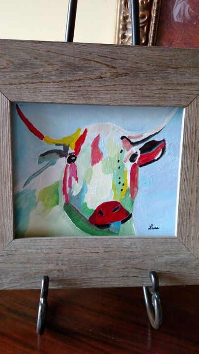Painted Cow - LANA EVANS