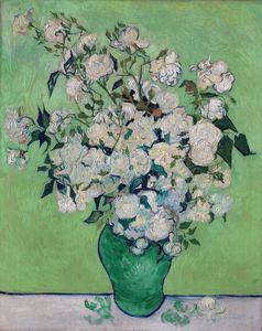 Roses by Van Gogh (1890)